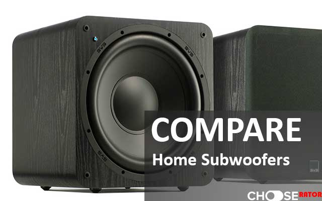 Compare subwoofers