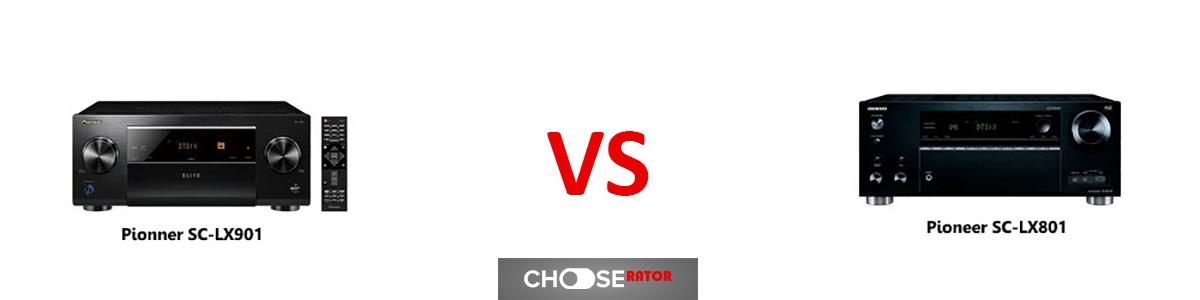 Pioneer SC-LX901 vs Pioneer SC-LX801