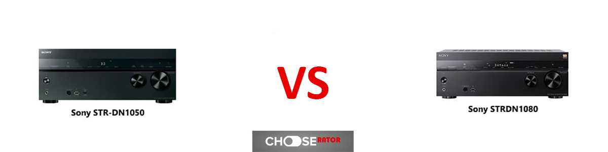 Sony STRDN1050 vs Sony STRDN1080