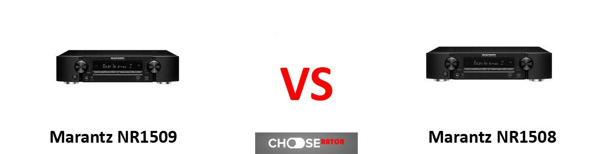 Marantz NR1509 vs Marantz NR1508