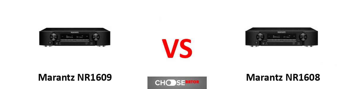 Marantz NR1609 vs Marantz NR1608