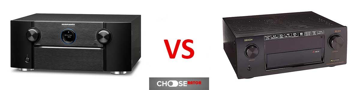 Marantz SR7012 vs Denon AVRX4400H
