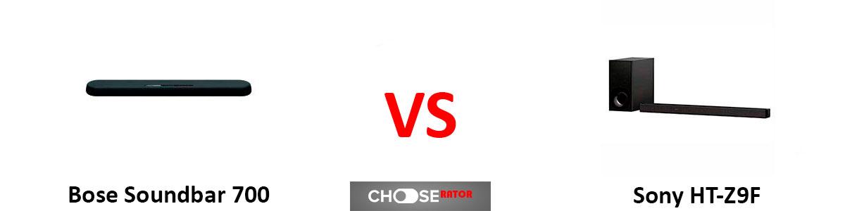 Bose Soundbar 700 vs Sony HT-Z9F