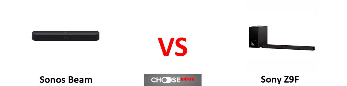 Sonos Beam vs Sony HT-Z9F
