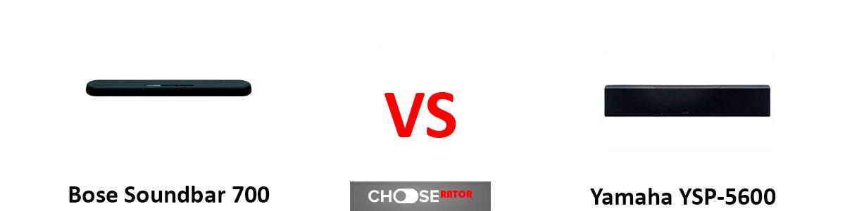Bose Soundbar 700 vs Yamaha YSP-5600
