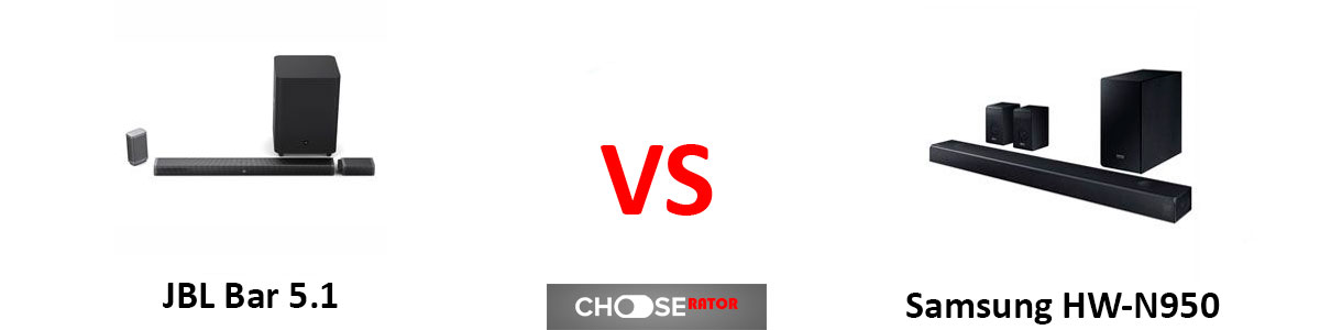 JBL Bar 5.1 vs Samsung HW-N950