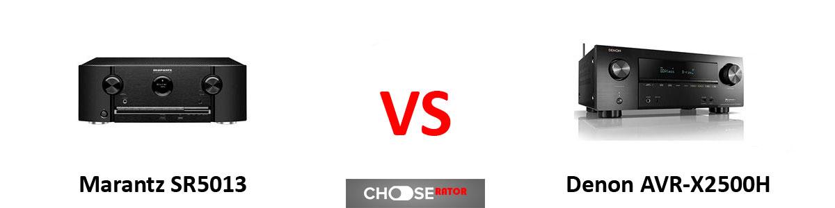 Marantz SR5013 vs Denon AVR-X2500H