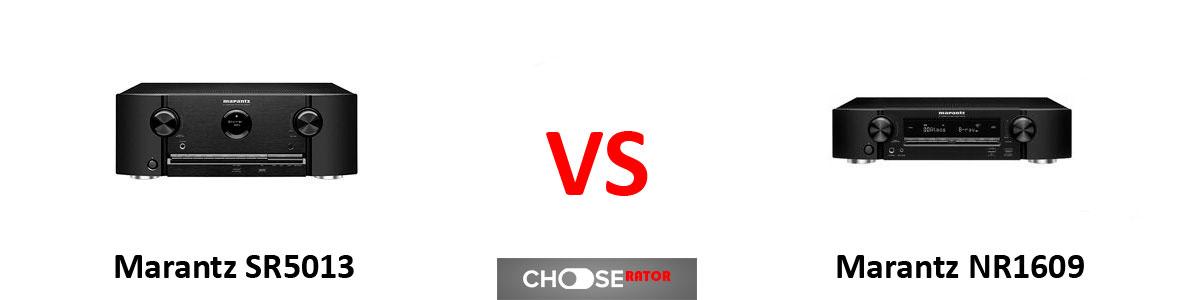 Marantz SR5013 vs Marantz NR1609