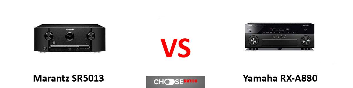Marantz SR5013 vs Yamaha RX-A880