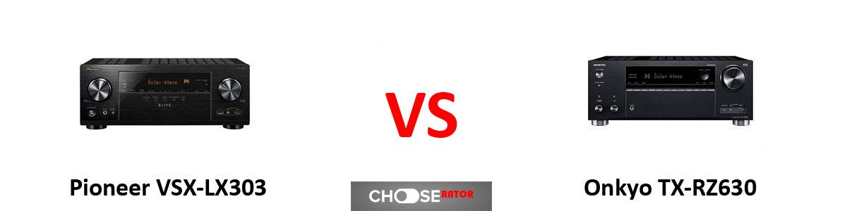 Pioneer VSX-LX303 vs Onkyo TX-RZ630
