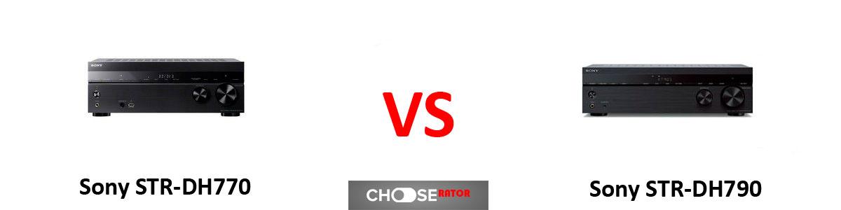 Sony STR-DH770 vs Sony STR-DH790