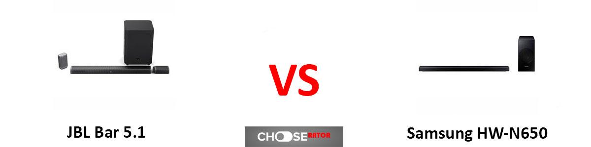 JBL Bar 5.1 vs Samsung HW-N650