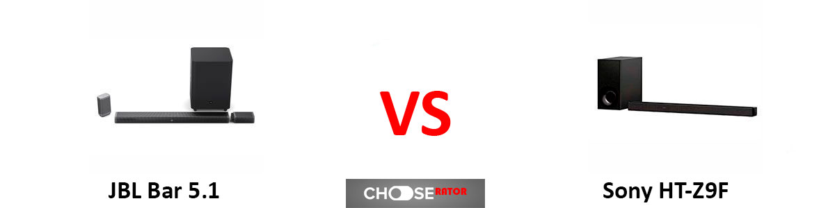 JBL Bar 5.1 vs Sony HT-Z9F