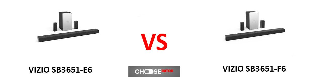VIZIO SB3651-E6 vs VIZIO SB3651-F6