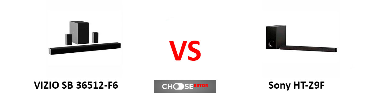 VIZIO SB36512-F6 vs Sony HT-Z9F