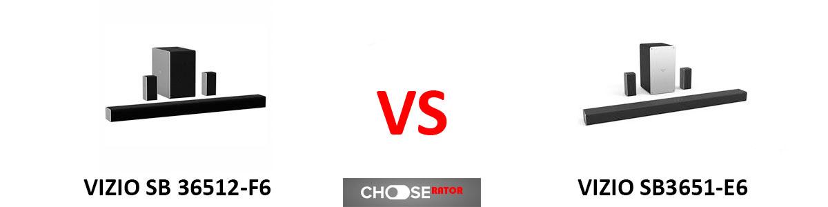 VIZIO SB36512-F6 vs VIZIO SB3651-E6