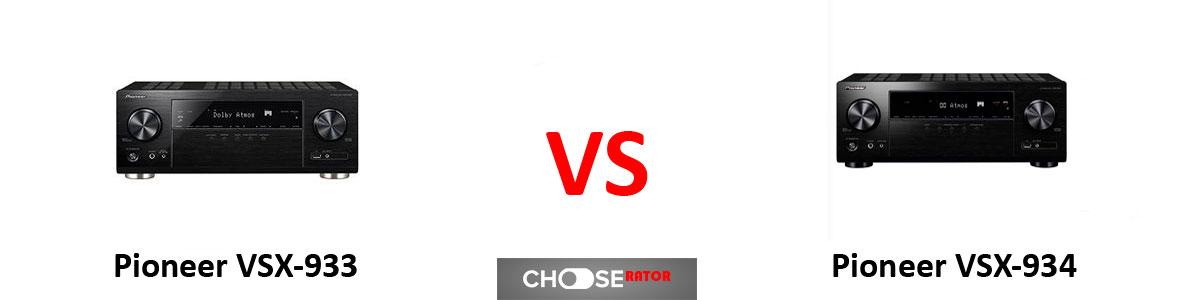 Pioneer VSX-933 vs Pioneer VSX-934