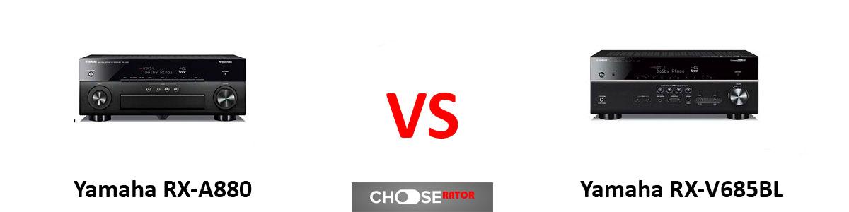 Yamaha RX-A880 vs Yamaha RX-V685BL
