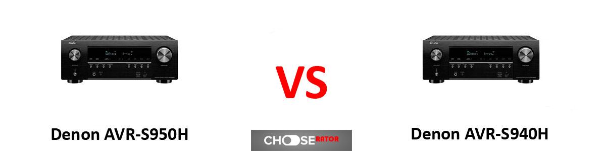 Denon AVR-S950H vs Denon AVR-S940H