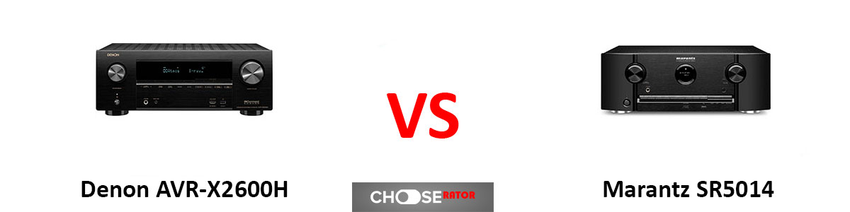 Denon AVR-X2600H vs Marantz SR5014