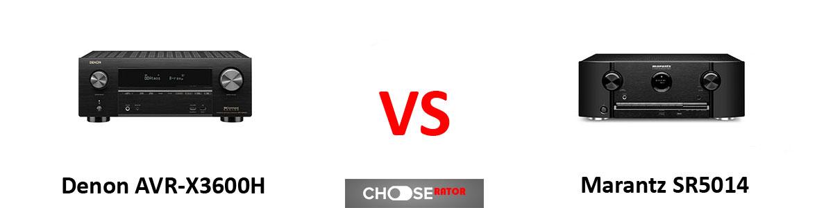 Denon AVR-X3600H vs Marantz SR5014