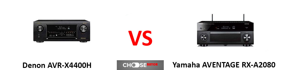 Denon AVR-X4400H vs Yamaha AVENTAGE RX-A2080