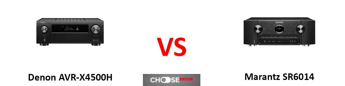Denon AVR-X4500H vs Marantz SR6014
