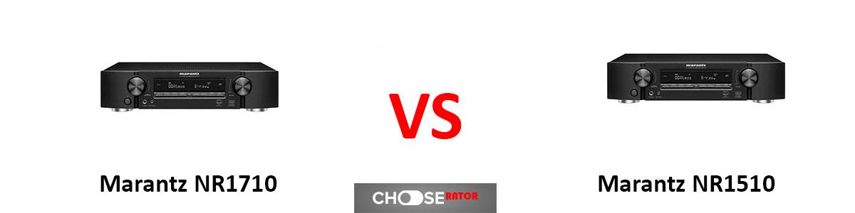 Marantz NR1710 vs Marantz NR1510