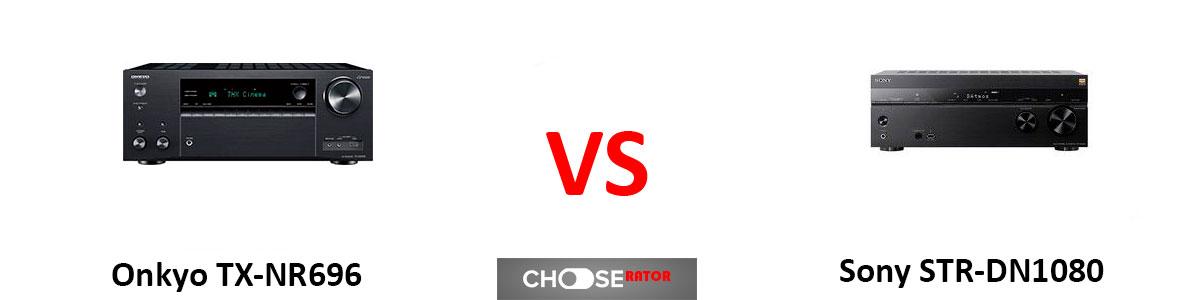 Onkyo TX-NR696 vs Sony STR-DN1080