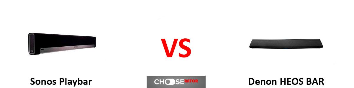 Sonos Playbar vs Denon HEOS BAR