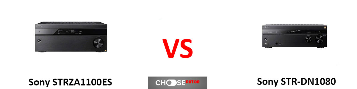 Sony STRZA1100ES vs Sony STR-DN1080