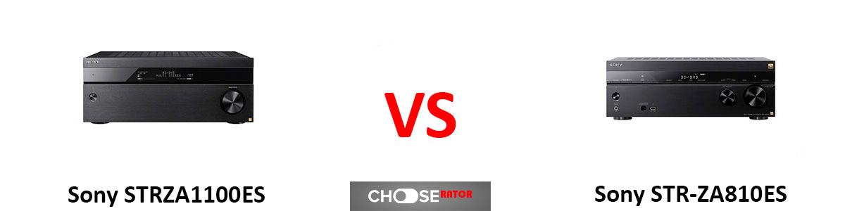 ony STRZA1100ES vs Sony STR-ZA810ES
