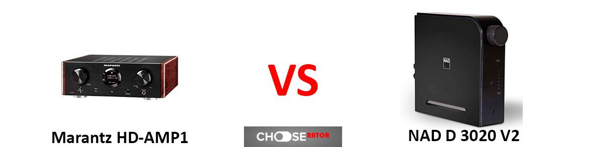 Marantz HD-AMP1 vs NAD D 3020 V2