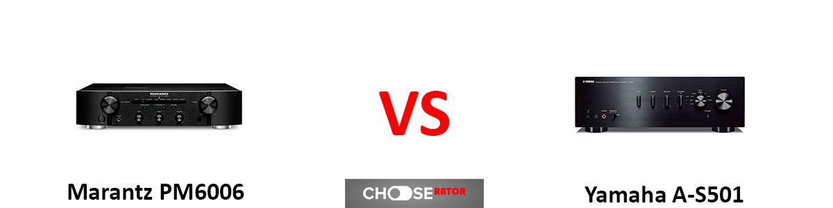 Marantz PM6006 vs Yamaha A-S501