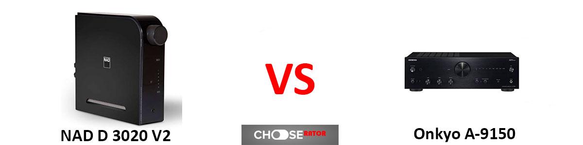 NAD D 3020 V2 vs Onkyo A-9150