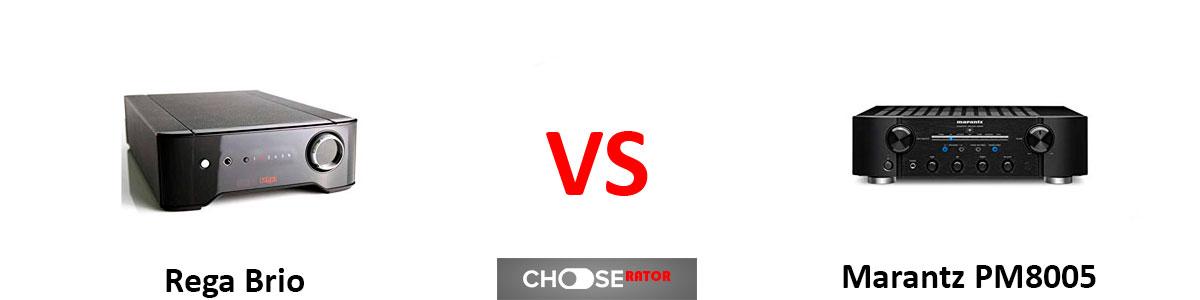 Rega Brio vs Marantz PM8005