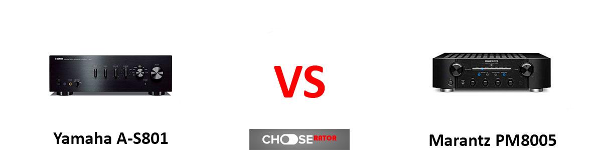 Yamaha A-S801 vs Marantz PM8005