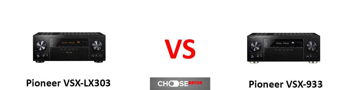 Pioneer-VSX-LX303-vs-Pioneer-VSX-933