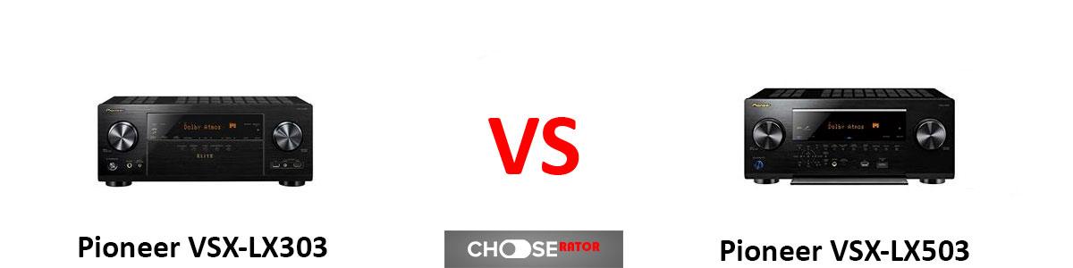 Pioneer VSX-LX303 vs Pioneer VSX-LX503