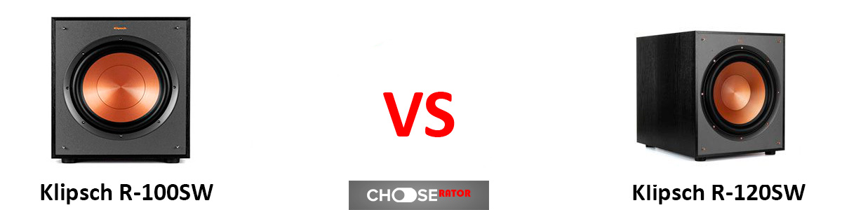 Klipsch R-100SW vs Klipsch R-120SW