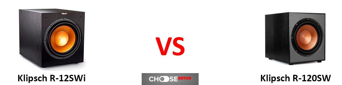 Klipsch R-12SWi vs Klipsch R-120SW