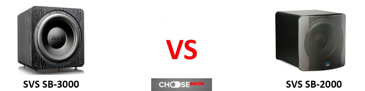SVS SB-3000 vs SVS SB-2000