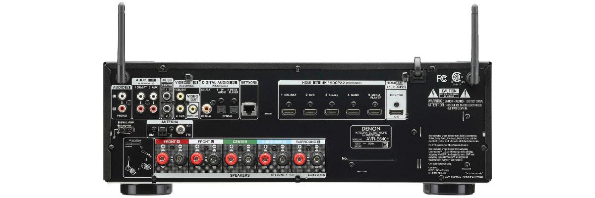 Denon AVR-S640H