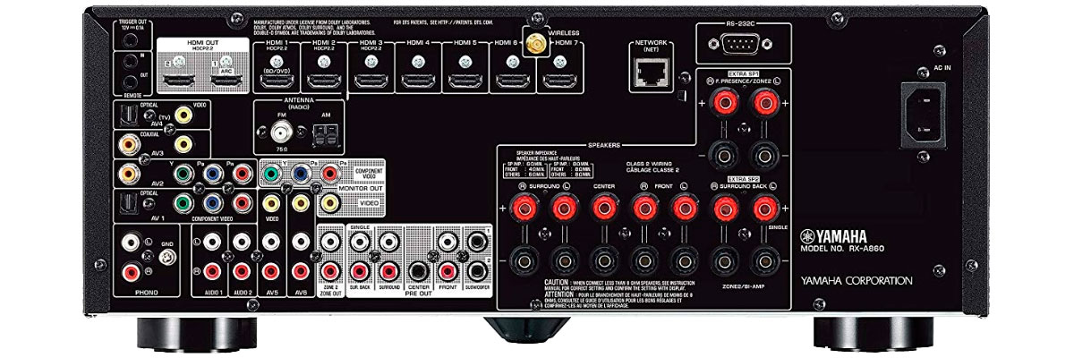 Yamaha RX-A860BL