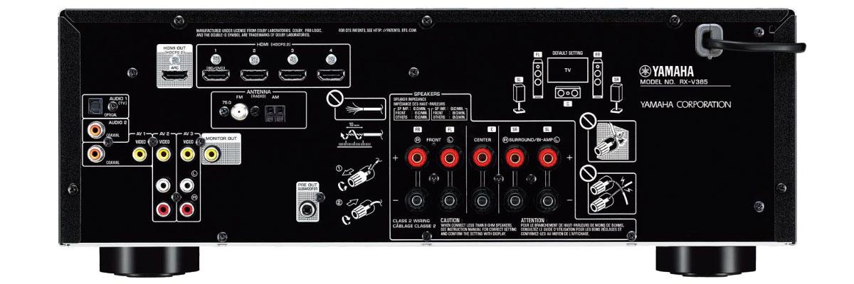 Yamaha RX-V385BL