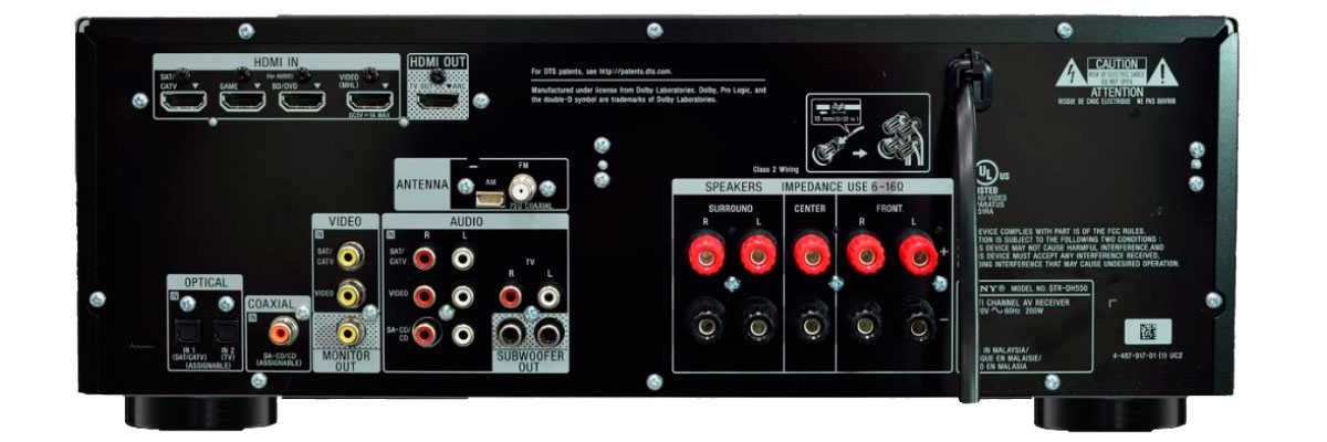 Sony STR DH550