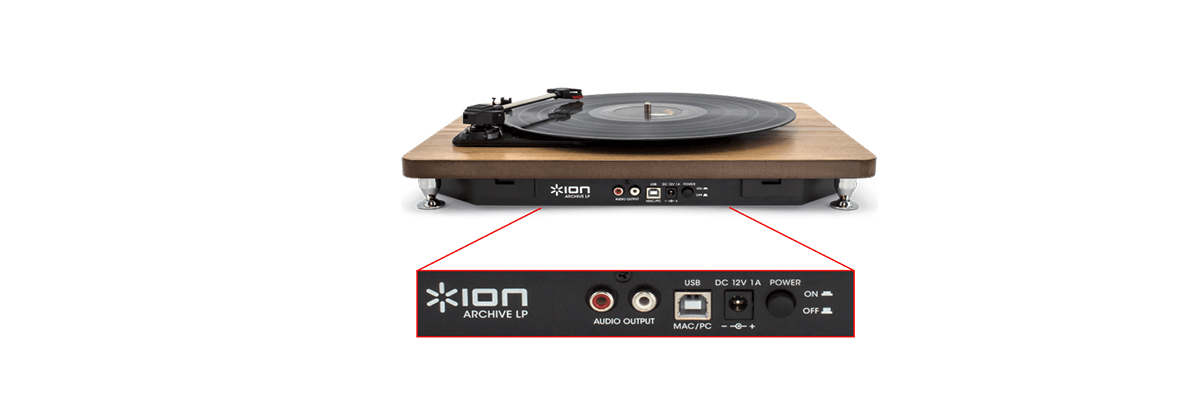 ION Audio Archive LP