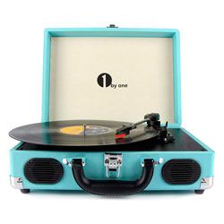 Compare 1byone Vintage turntable
